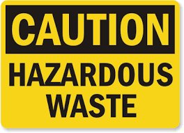 Hazardous waste logo