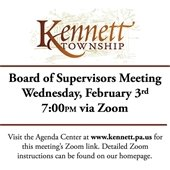Next Board of Supervisors Meeting 2/3