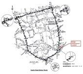 Map of Kaolin Road Detour