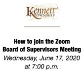 Board of Supervisors Zoom Meeting
