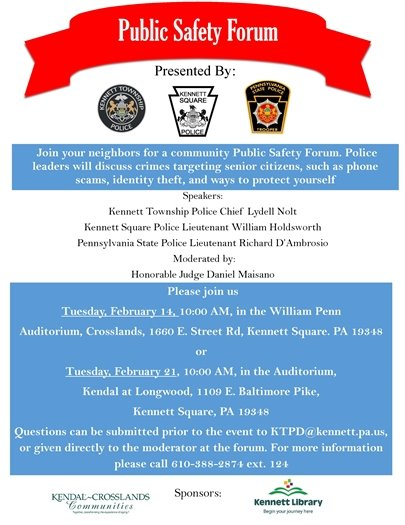 Public Safety Forum!