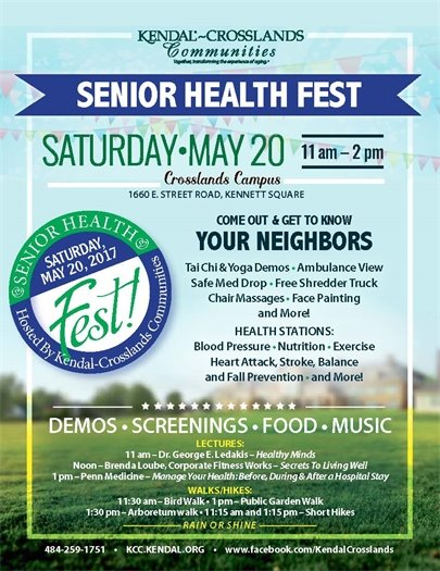 Kendal Crosslands Senior Health Fest