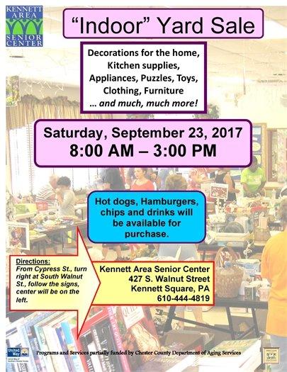 Senior Center Yard Sale