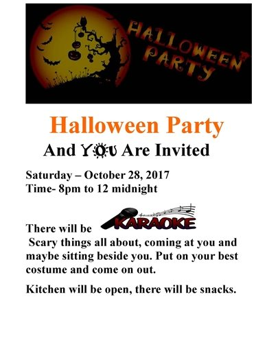 VFW Halloween party