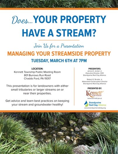 Managing your streamside property flyer