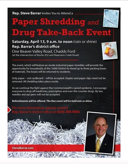 Paper Shredding and Drug Take-Back Event