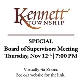 Special BOS Meeting 11/12/2020