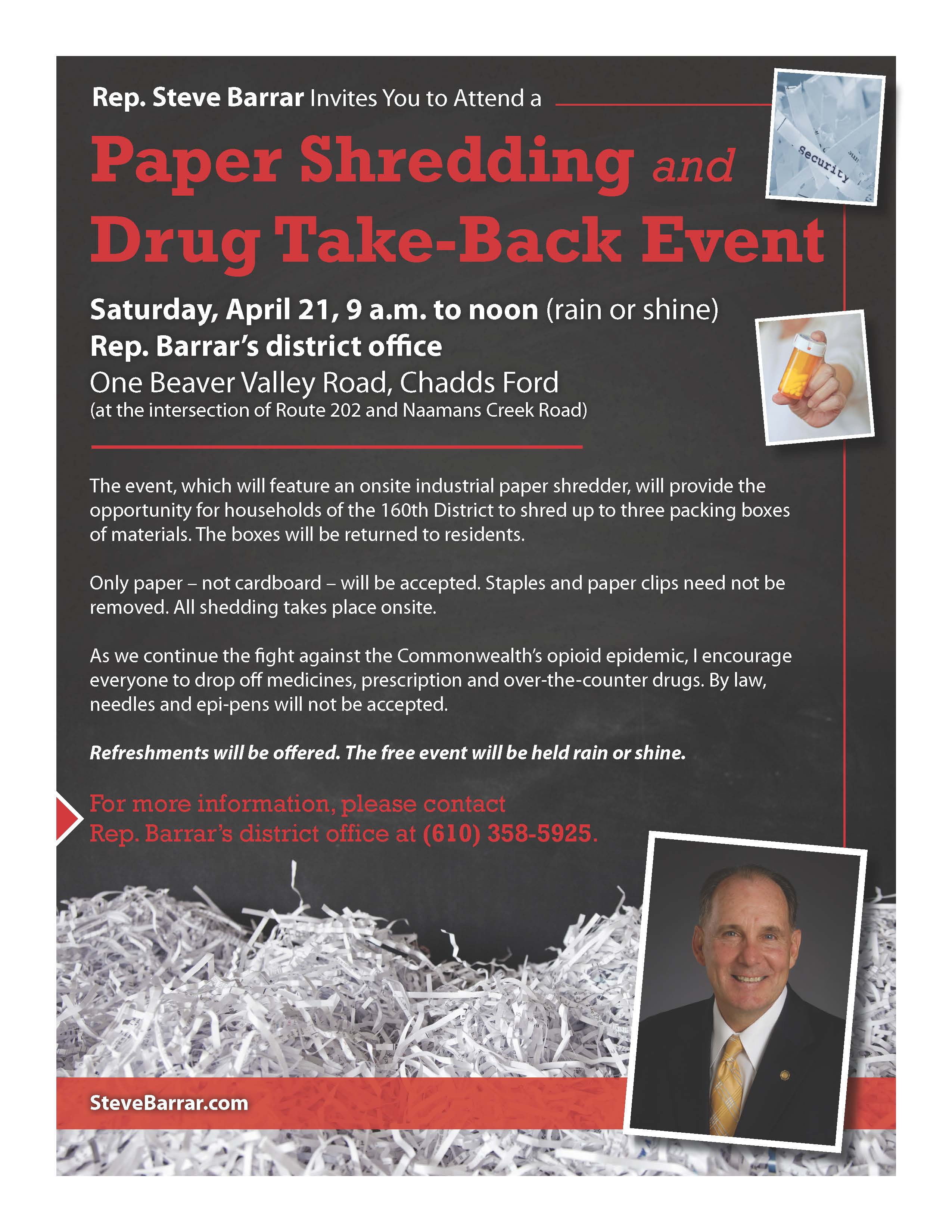 Barrar Shredding and Drug Take Back flyer_3-18