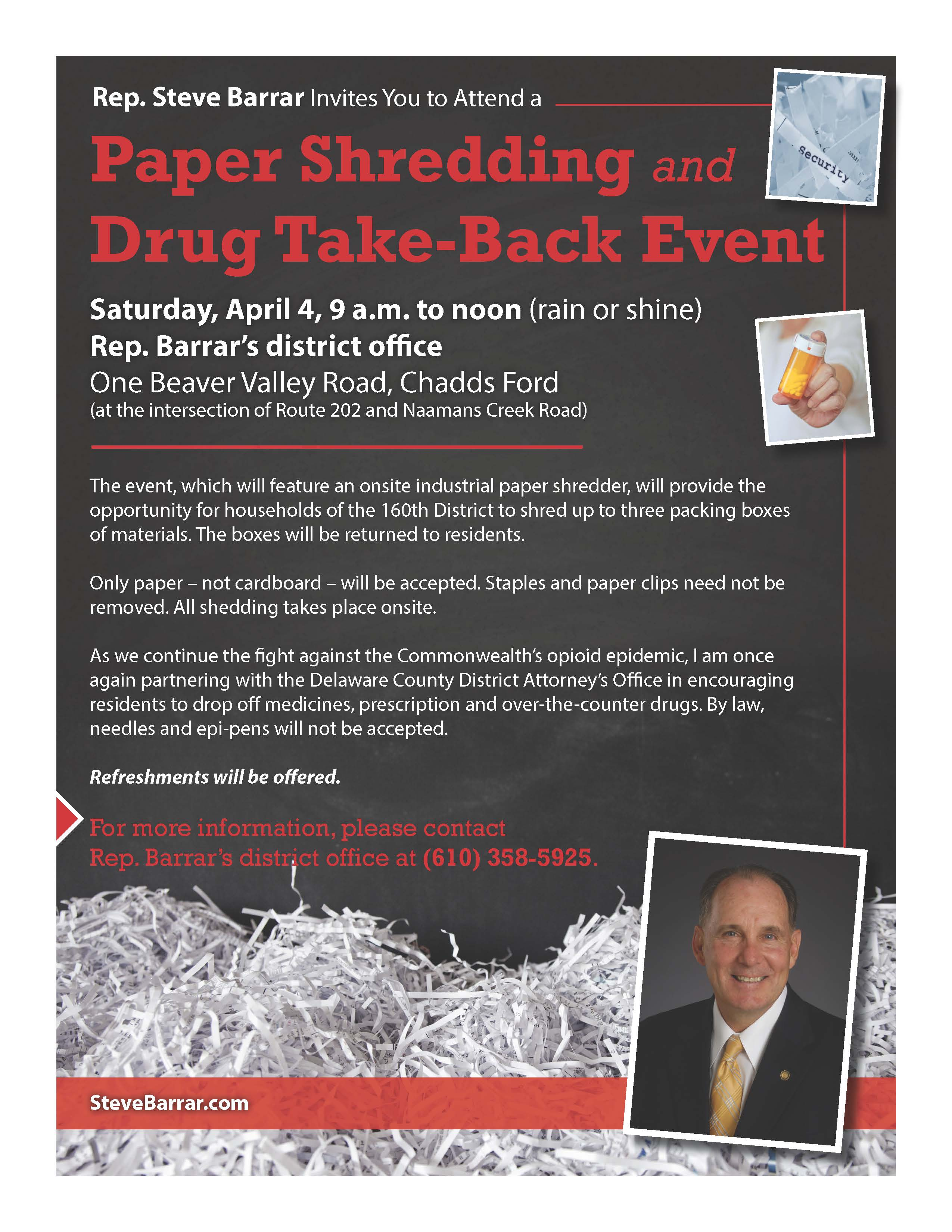 Barrar Shredding and Drug Take Back flyer_1-20